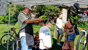 Trails Council Bike Volunteer